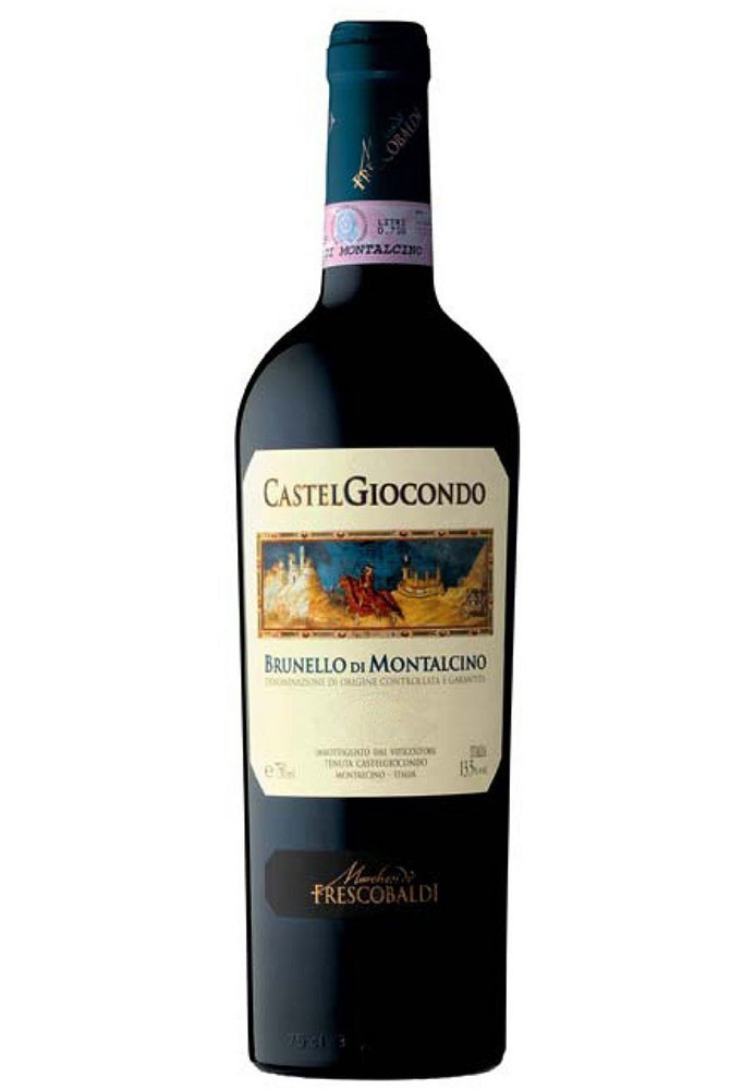 Frescobaldi Brunello di Montalcino Magnum lt 1,5 cassa legno